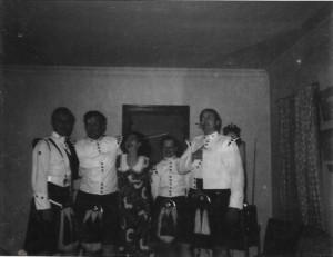 George and Pride Lynch (far right)